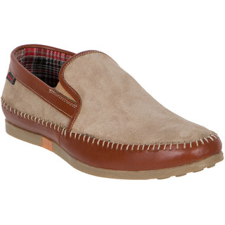 Numero Uno MenS Brown Casual Loafers (NUSM-458-CHIKU)