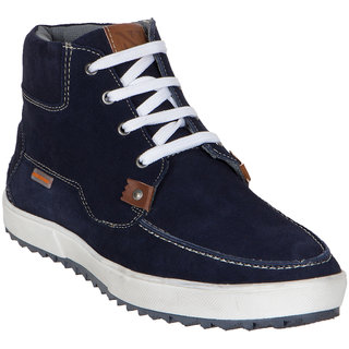Numero Uno MenS Blue Casuals Lace-Up Shoes (NUSM-491-NAVY)