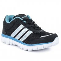 Jovelyn Black  Blue Sports Shoes J520