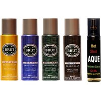 Brut Set Of Brut Deo And Perfume Of Fragrance And Fashion Combo Set (Set Of 5) - 91848408
