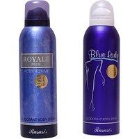 Rasasi Royale Blue MenBlue Lady Combo Set (Set Of 2)