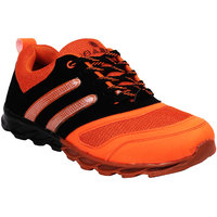 Demkas Mans Sports Orange Shoe