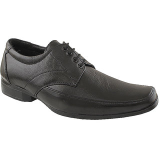 Tycoon Men Black Lace Up Shoes (MVVAA-071-BL)