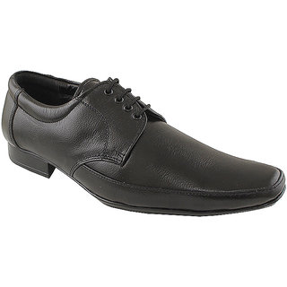 Tycoon Men Black Lace Up Shoes (MVVAA-210-BL)