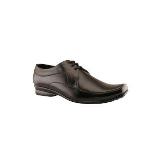 Tycoon Men Black Lace Up Shoes (MVVSS-930-BL)