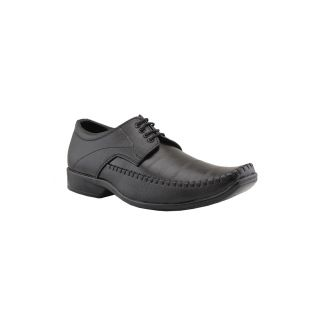 Tycoon Men Black Lace-Up Shoes (LCCBB-222-BL)
