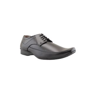 Tycoon Men Black Lace-Up Shoes (DMMKK-730-BL)