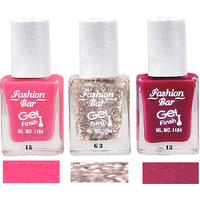 Fashion Bar Sc 15 G3 13 Nail Polish Combo,Multi Color,28.5Ml,Pack Of 3