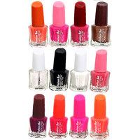 Fashion Bar Fb St Combo 20 Nail Polish Combo,Multi Color,60Ml,Pack Of 12