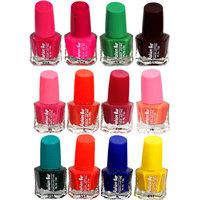 Fashion Bar Fb St Combo 38 Nail Polish Combo,Multi Color,60Ml,Pack Of 12