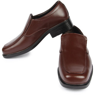 Liberty MenS Brown Formal Slip On Shoes (FORTUNEKINGFHER08BROWN)