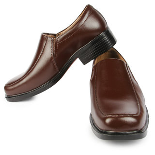 Liberty MenS Brown Formal Slip On Shoes (FORTUNEKINGFSR-01BROWN)