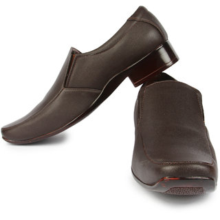 Liberty MenS Brown Formal Slip On Shoes (FORTUNEFAG-092BROWN)