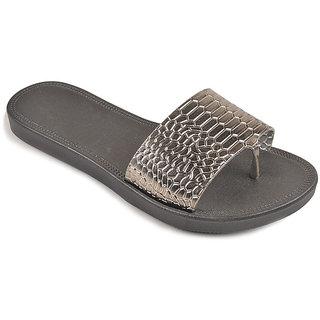 L.G. Footwear Women Blue Styles Flats (128-1-Grey)