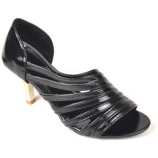L.G. Footwear Women Black Styles Heel (9667-A3-Black)