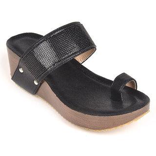 L.G. Footwear Women Black Styles Heel (V8860-3-Black)