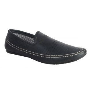 Salt MenS Black Casual Slip On Shoes (DB20072)