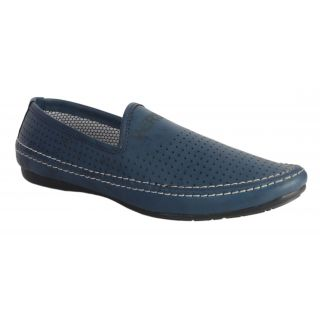 Salt MenS Blue Casual Slip On Shoes (DB20082)