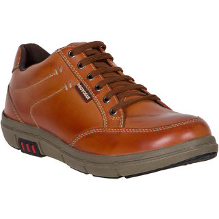 Provogue MenS Tan Casual Lace-Up Shoes (PV7132-TAN)
