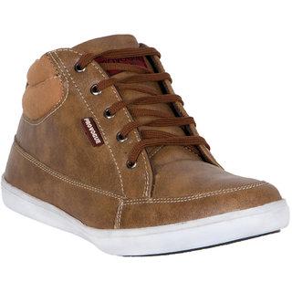 Provogue MenS Tan Casual Lace-Up Shoes (PV7129-TAN)