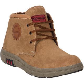 Provogue MenS Tan Casual Lace-Up Shoes (PV7143-TAN)