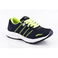 Provogue MenS Gray Lace-Up Sports Shoes (PV1097-LT.GREY-ORANGE)