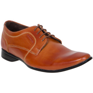 Provogue MenS Tan Casual Lace-Up Shoes (PV7112-TAN)