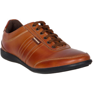 Provogue MenS Tan Casual Lace-Up Shoes (PV7134-TAN)