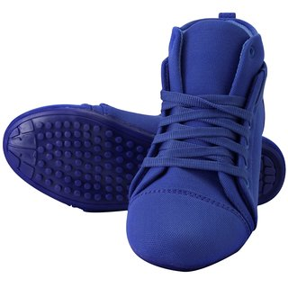 Metrogue WomenS Blue Casual Lace-Up Sneakers Shoes (WSK-102)