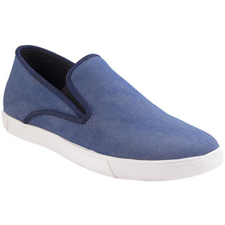 Ziera MenS Blue Casual Slip On Shoes (ZO1085)