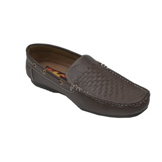 Monaz MenS Brown Casual Loafers (MZC-0119)