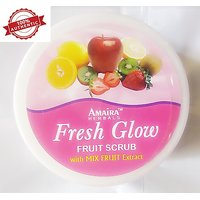 New Advanced Herbal Natural Fruits Skin Whitening Face And Body Scrub - 200 Ml - 100 Genuine Product