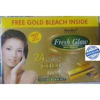 260 Gms New Advanced 24 Carat Gold Facial Kit With Free Bleach  100 Authentic Product At Wholesale Price - 92137839
