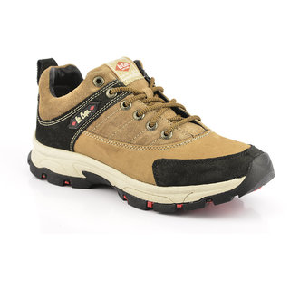Lee Cooper Mens Tan Casual Lace-up Shoes - 92167672