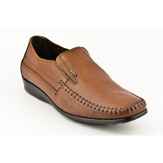 Lee Copper Mens Brown Formal Slip On Shoes