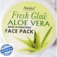250 Gms Herbal New Advanced Aloe Vera Face Pack For Fair And Radiant Skin At Wholesale Prices