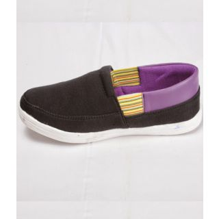Canopus Black With Purple  Casual Shoe For Women