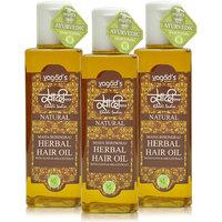 Khadi Maha Bhringraj Herbal Hair Oil Pack Of 3