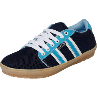 Fausto MenS Blue Casuals Lace-Up Shoes (FST 1008 NAVY BLUE)