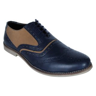 Monkx MenS Blue Casuals Lace-Up Shoes (BLM-708-BLUE)