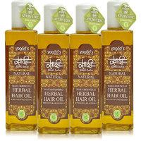 Khadi Maha Bhringraj Herbal Hair Oil Pack Of 4