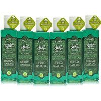 Khadi Mind-Fresh Herbal Hair Oil Pack Of 6