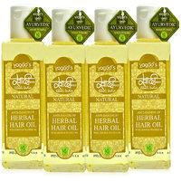 Khadi Anti-Dandruff Herbal Hair Oil Pack Of 4