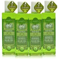 Khadi Anti-Hairfall Herbal Hair Oil Pack Of 4
