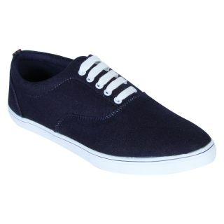 Monkx MenS Blue Casuals Lace-Up Shoes (BLM-043-BLUE)