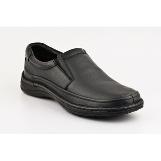 Lee Cooper Black Leather Loafers Men (LC1334-BLACK)