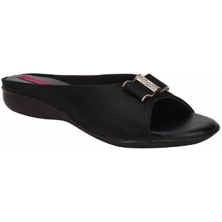Rialto WomenS Black Casual Slip On Flats (Rialto-K9-Black)