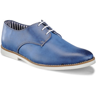 Juan David Mens Blue Casuals Lace-up Shoes - 92625228