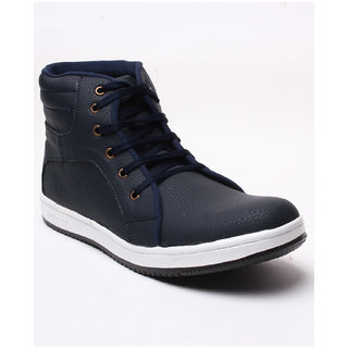 Juan David Mens Blue Casuals Lace-up Shoes - 92625335