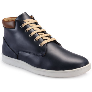 Juan David Mens Blue Casuals Lace-up Shoes - 92627244